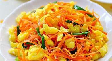 红萝卜怎么做好吃呢?---千米饮食网(www.kmysw.com)
