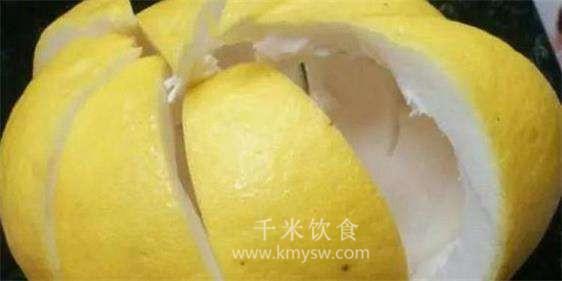 柚子皮的功效与作用 止咳美容助消化