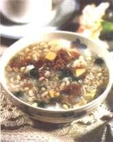 豌豆素鸡粥的做法及介绍
