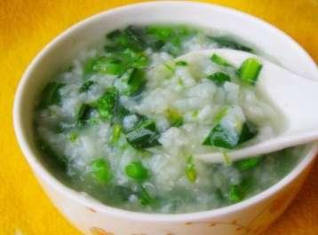 菠菜粥的做法及介绍