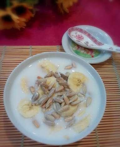 香蕉牛奶燕麦粥(二)的做法及介绍