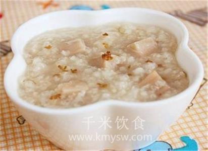 莲藕粥的做法及介绍