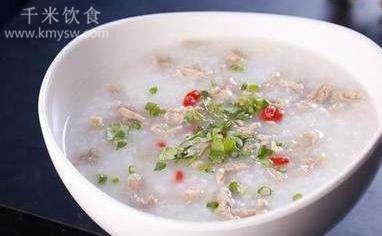 羊肉粥的做法及介绍---千米饮食网(www.kmysw.com)