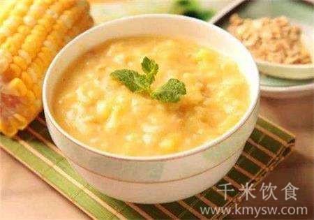 玉米粒燕麦粥的做法及介绍