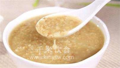 燕麦江米粥的做法及介绍