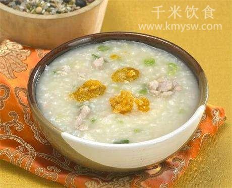 豆芽燕麦粥的做法