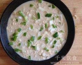 白菜火腿免煮燕麦粥的做法及介绍