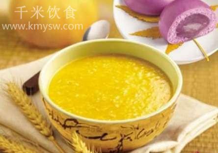 甜玉米燕麦粥的做法及介绍