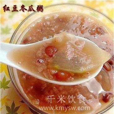 冬瓜赤豆粥的做法及介绍