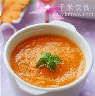 胡萝卜优酪乳粥的做法及介绍