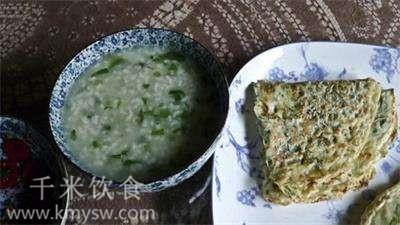 清明菜粥的做法及介绍---千米饮食网
