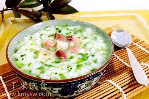 莙荙菜粥的做法及介绍---千米饮食网