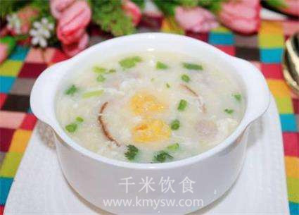 鸭蛋瘦肉粥的做法及介绍---千米饮食网