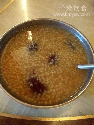 小米红枣粥的做法及介绍---千米饮食网