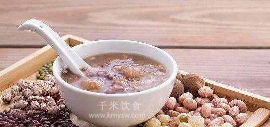 龙眼莲子粥的做法及介绍---千米饮食网