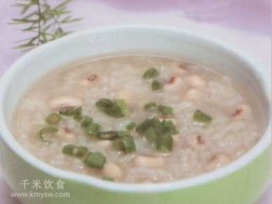 眉豆大米粥的做法及介绍---千米饮食网