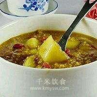 枸杞豉汁粥的做法及介绍---千米饮食网