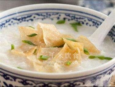 腐皮白果粥的做法及介绍---千米饮食网