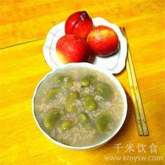 蚕豆粥的做法及介绍---千米饮食网