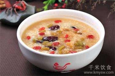 栗子粟米粥的做法及介绍---千米饮食网