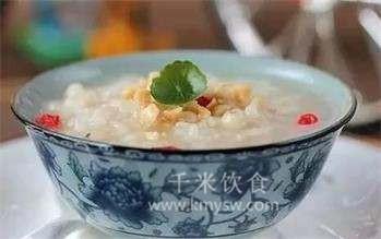 榛子杞子粥的做法及介绍---千米饮食网