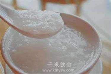 米油粥的做法及介绍---千米饮食网