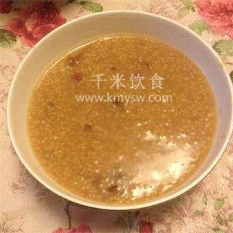小米芸豆粥的做法及介绍---千米饮食网
