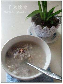 菱米薏米粥的做法及介绍---千米饮食网