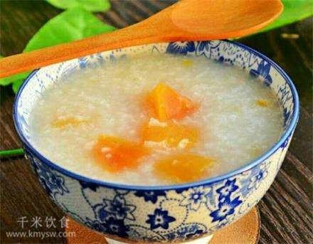 木瓜粥的做法及介绍---千米饮食网