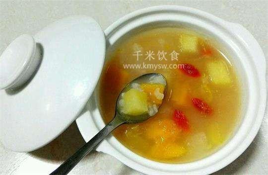 水果甜粥的做法及介绍---千米饮食网