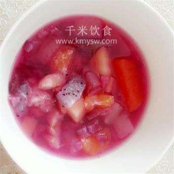 红梨水果粥的做法及介绍---千米饮食网