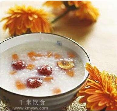 樱桃桔子粥的做法及介绍---千米饮食网
