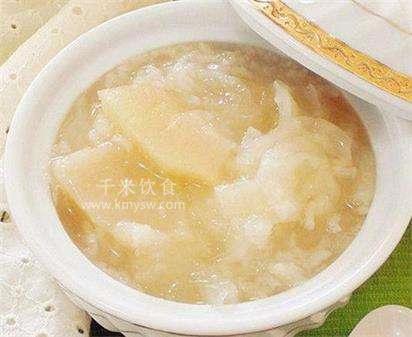 梨粥的做法及介绍---千米饮食网
