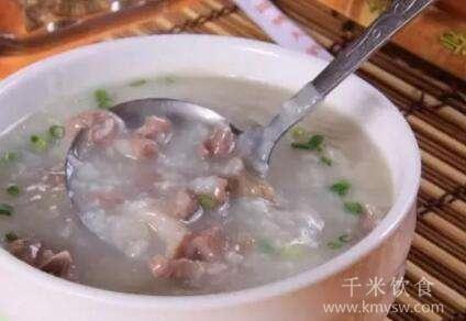 枸杞羊肾粥的做法及介绍---千米饮食网(www.kmysw.com)