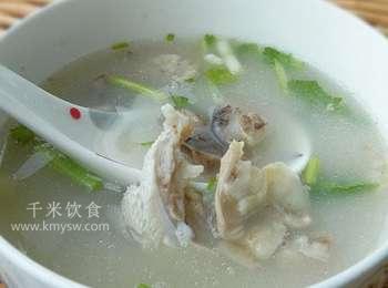 羊头蹄粥的做法及介绍---千米饮食网(www.kmysw.com)